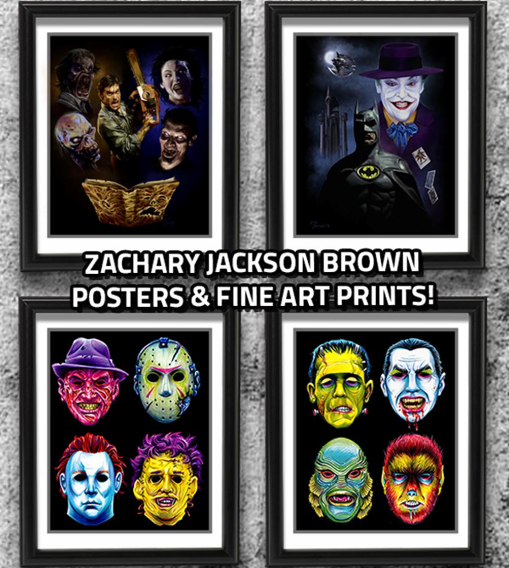 teeVillain: Zach Brown Collection