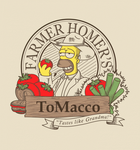 BustedTees: Farmer Homer's Tomacco