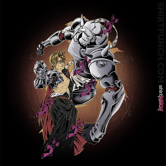 ShirtPunch: Fullmetal Pose