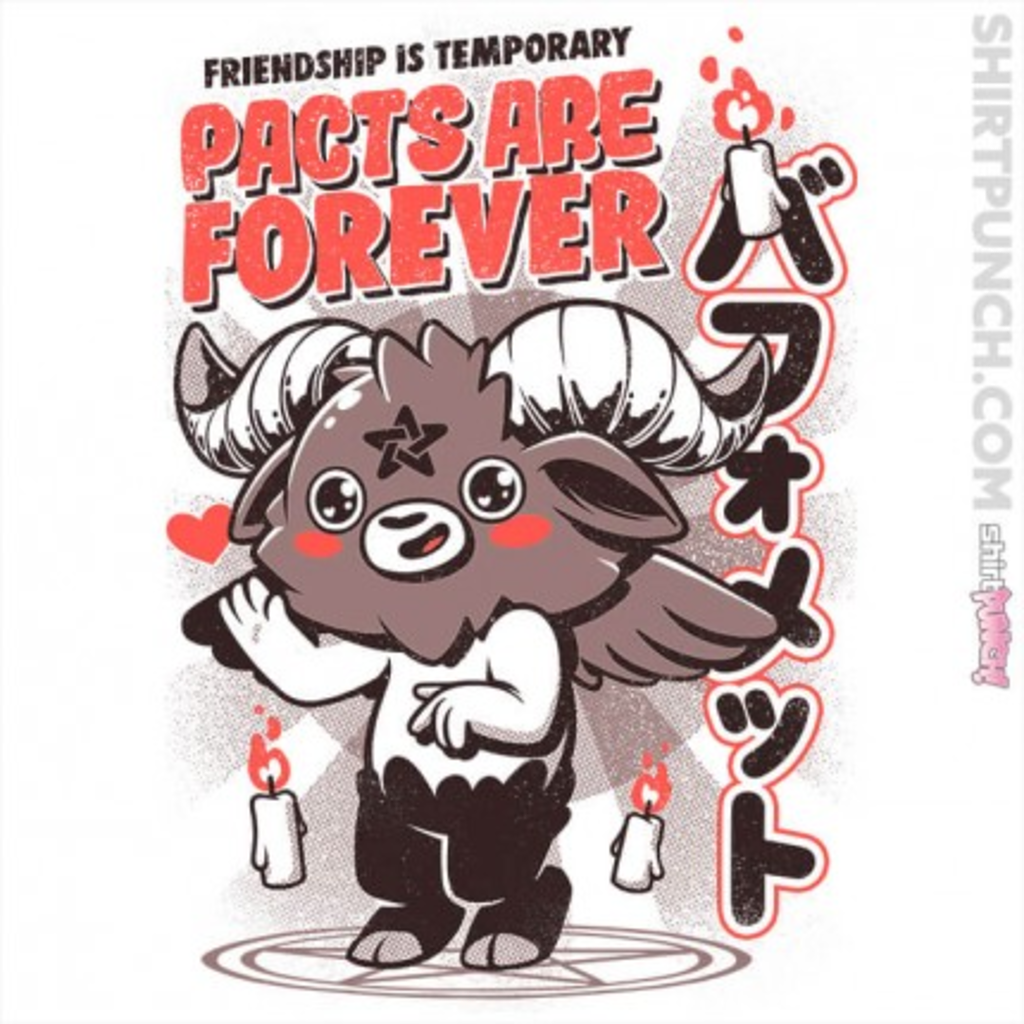 ShirtPunch: Pacts are Forever