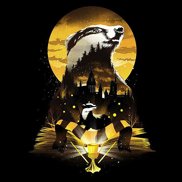 Once Upon a Tee: Book of Badgers