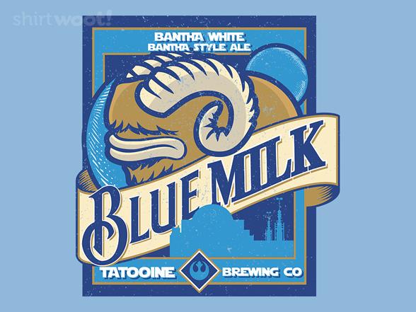 Woot!: Blue Milk