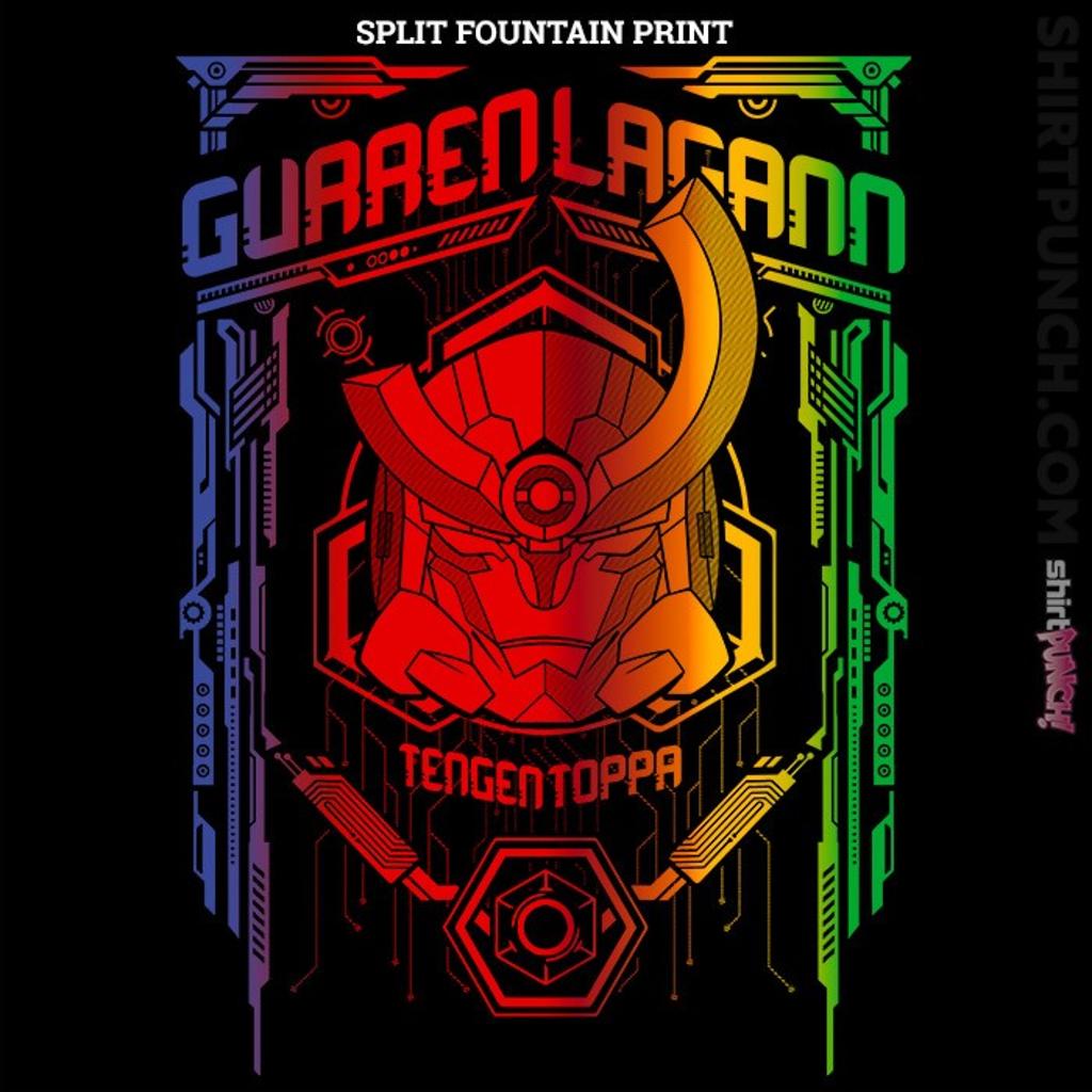 ShirtPunch: Gurren Split