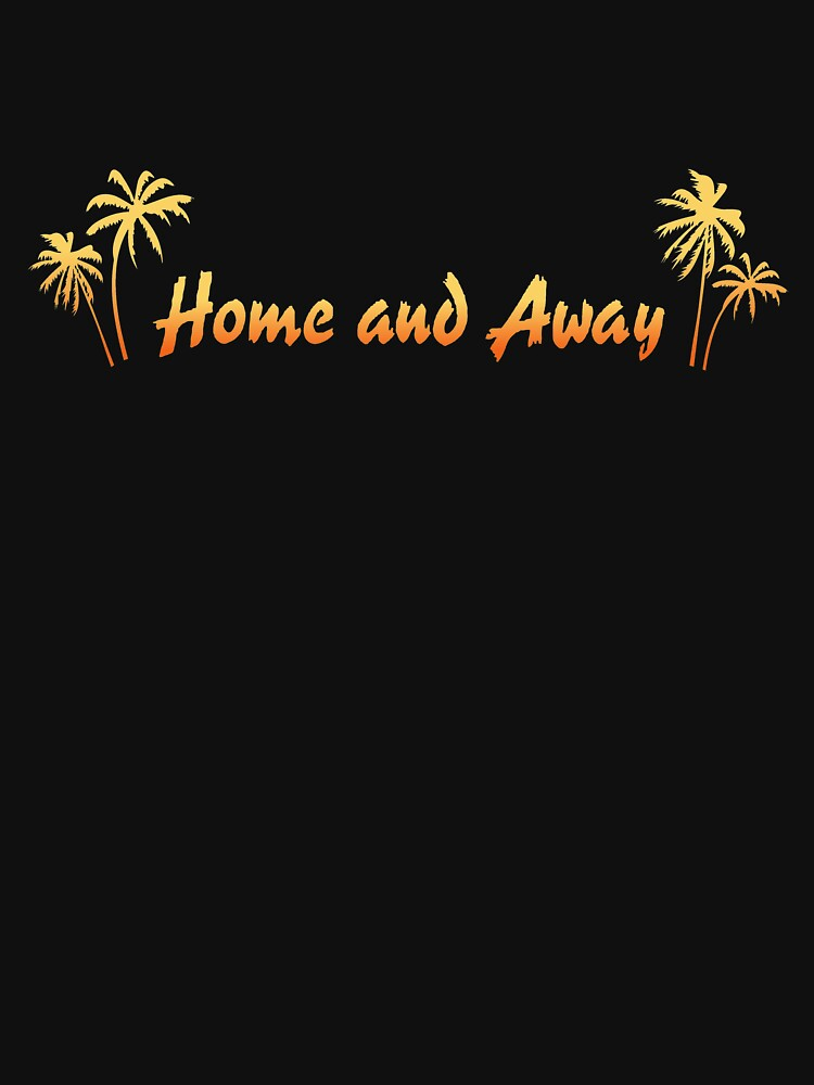 RedBubble: Retro Home And Away Logo