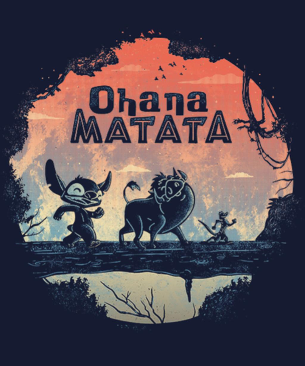 Qwertee: Ohana Matata