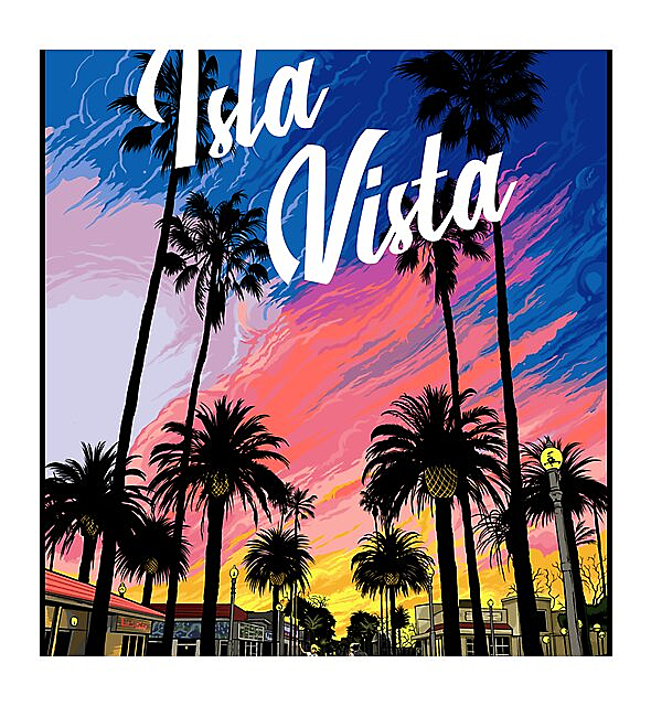 RedBubble: Isla Vista sunset ♡