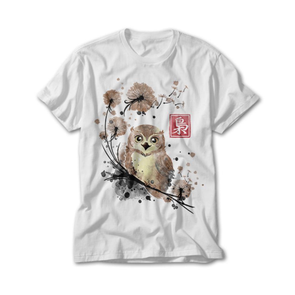 OtherTees: Dandelion owl