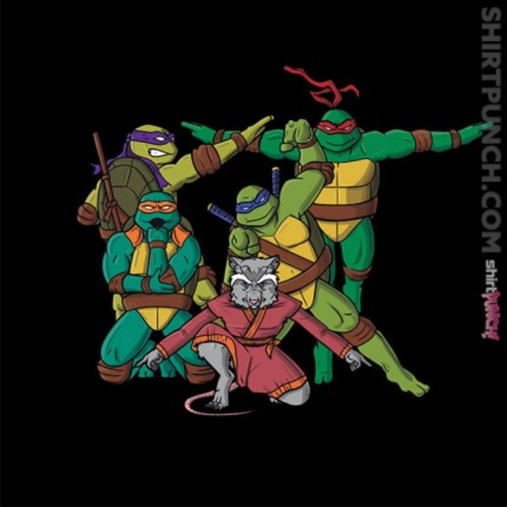 ShirtPunch: Turtle Force