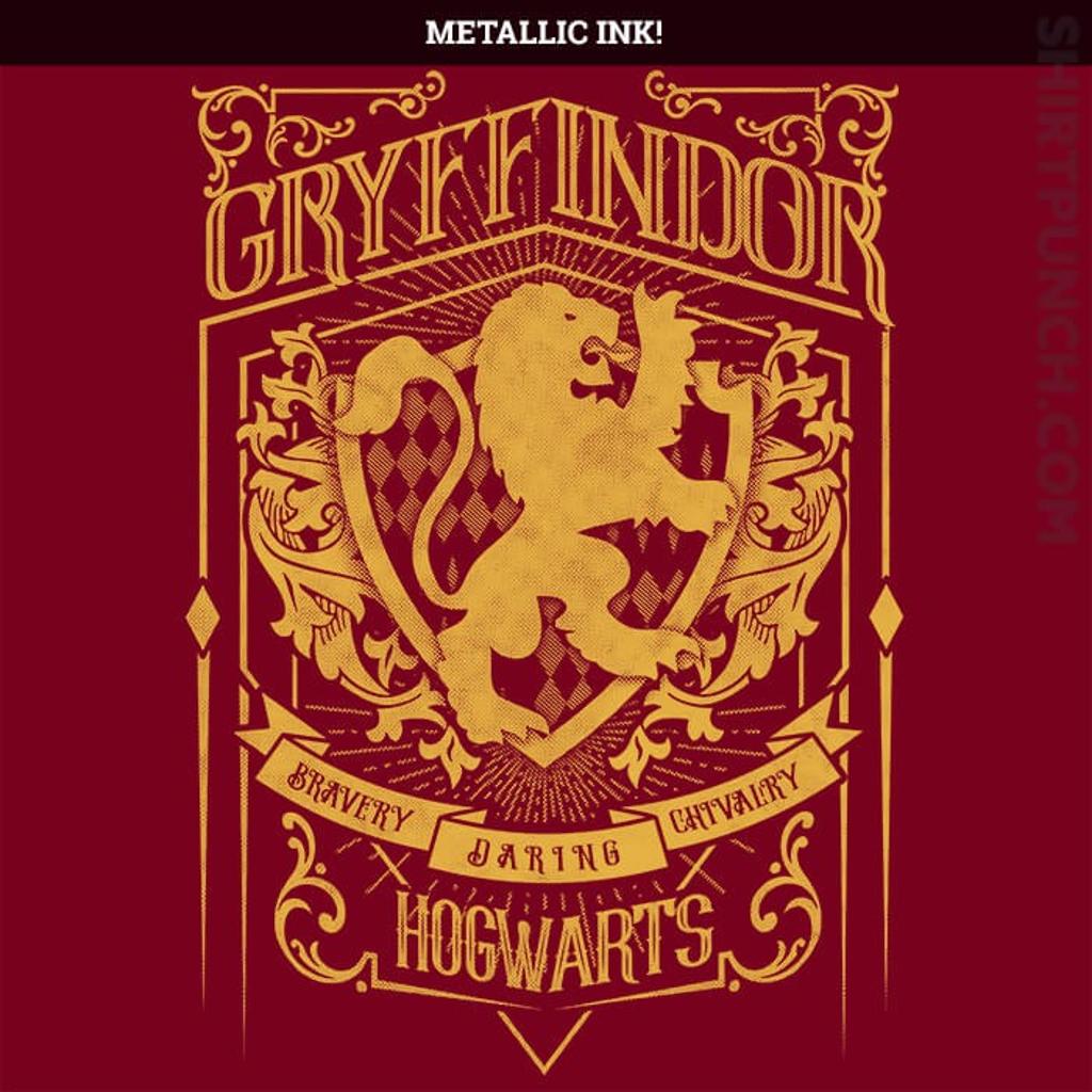 ShirtPunch: Gryffindor House