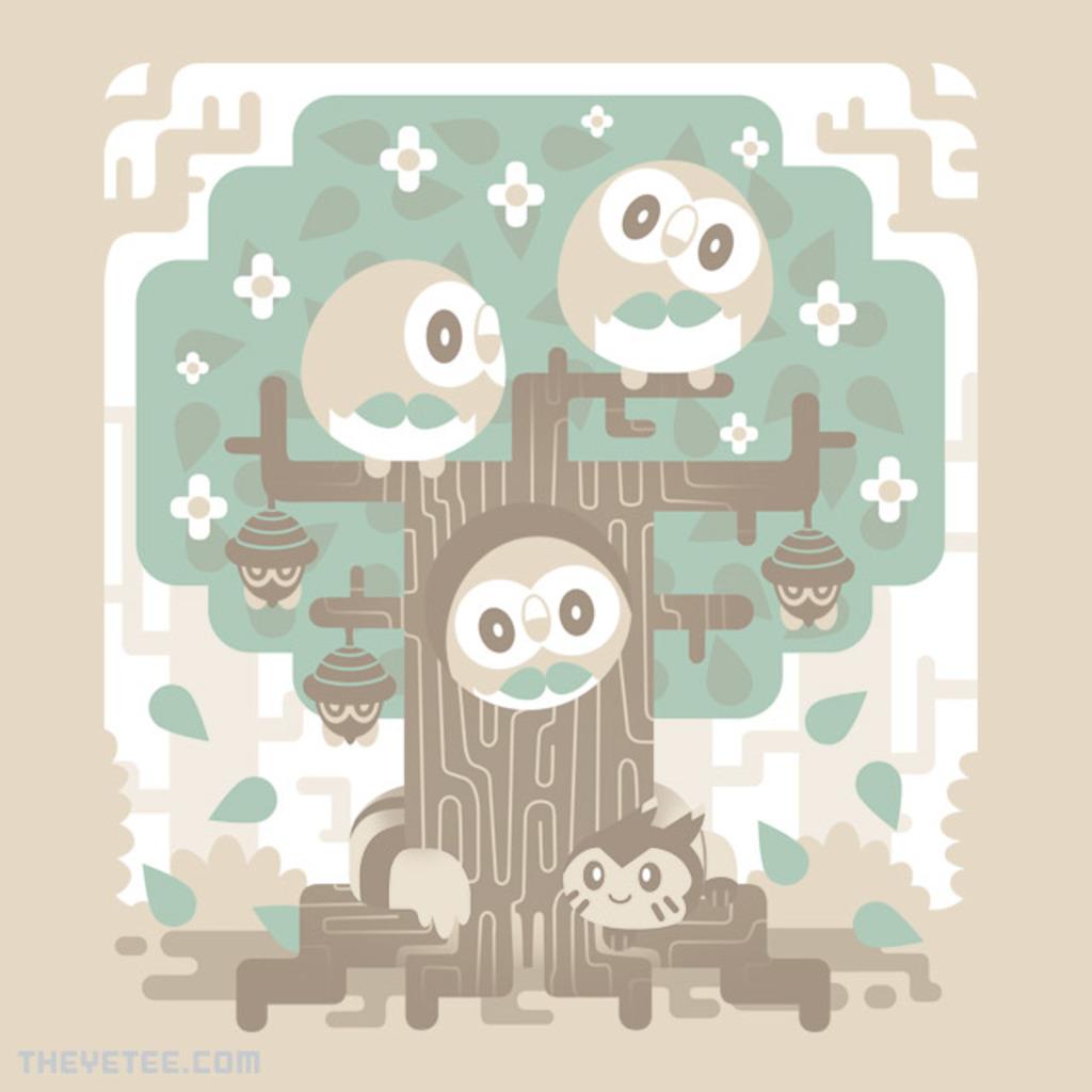 The Yetee: Wood Owl Woods