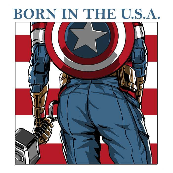 Once Upon a Tee: Born in the USA