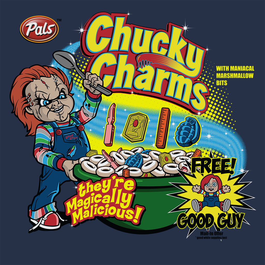Pop-Up Tee: Chucky Charms