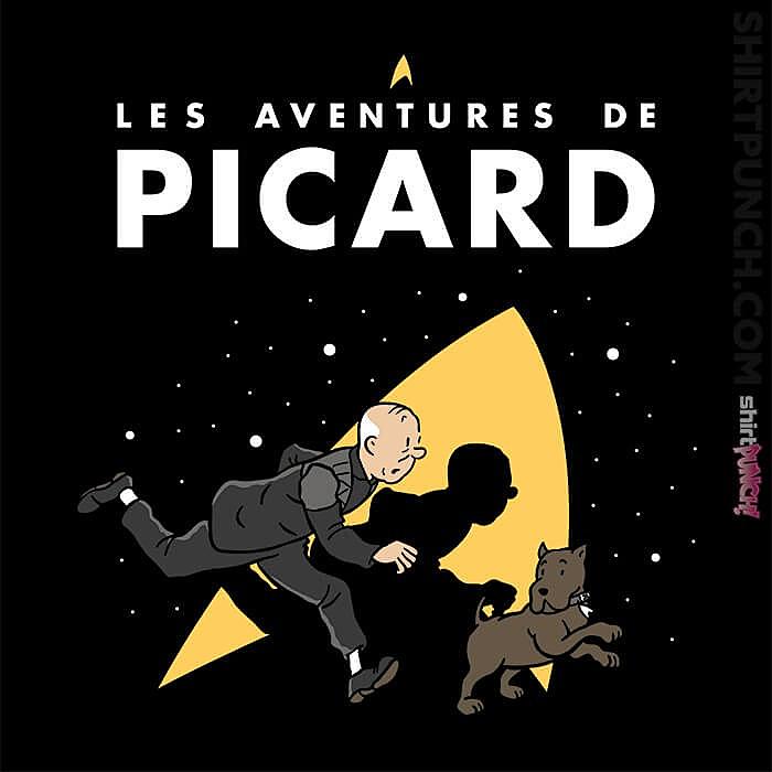 ShirtPunch: Les Aventures De Picard