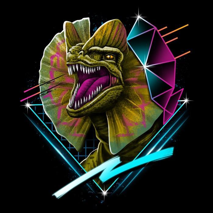 Once Upon a Tee: Rad Dilophosaurus