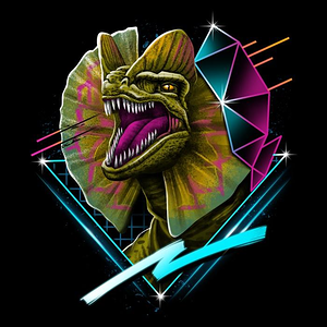 Once Upon a Tee: Rad Dilophosaurus