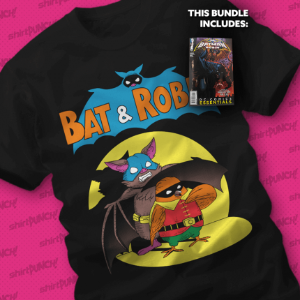 ShirtPunch: Boy Wonder Through the Ages Bundle (Comic and Shirt)
