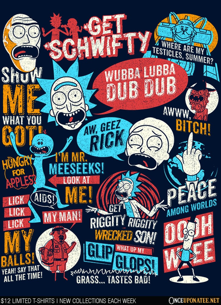 Once Upon a Tee: Wub a Lub a Dub Dub