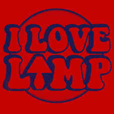 Textual Tees: I Love Lamp