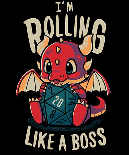 Qwertee: Rolling like a boss