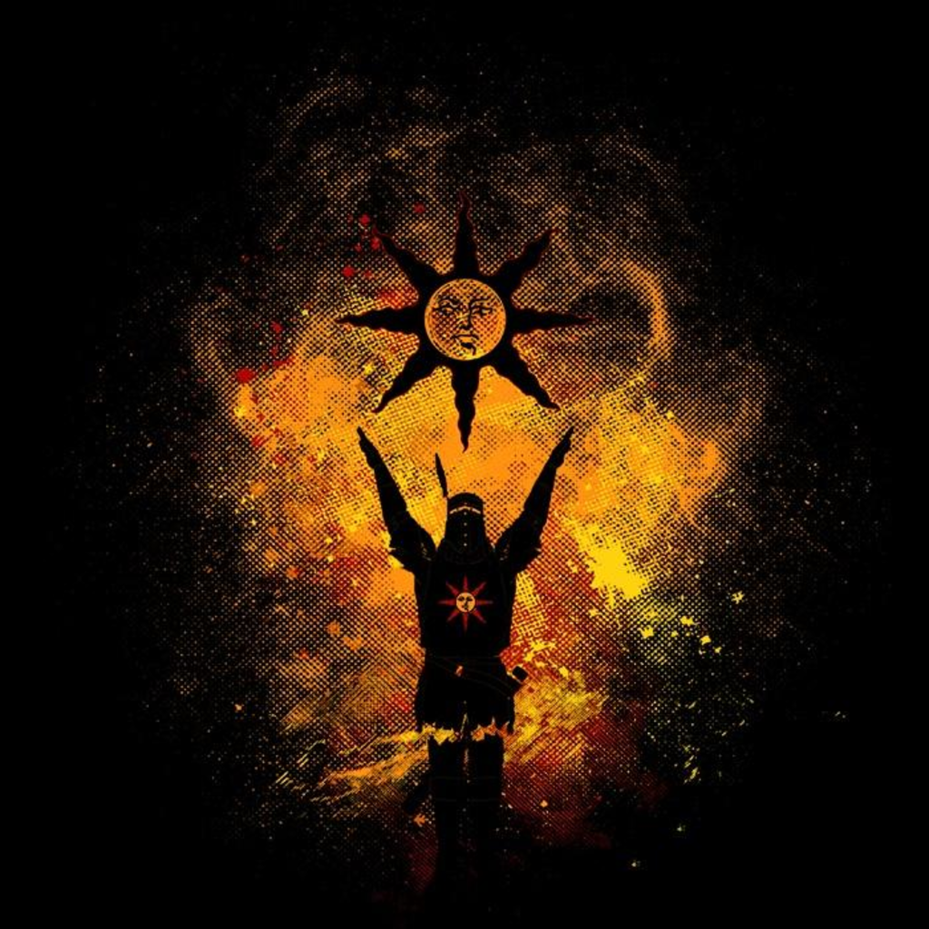 Once Upon a Tee: Praise the Sun Art