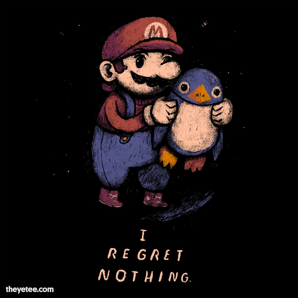 The Yetee: I Regret Nothing