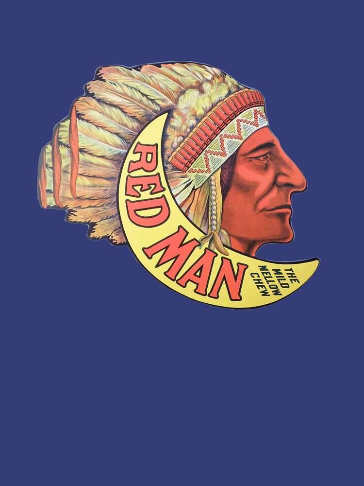 RedBubble: Red Man - Vintage Chewing Tobacco Ad