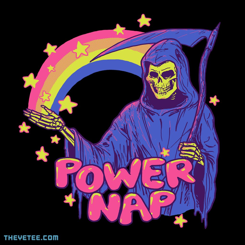 The Yetee: Power Nap