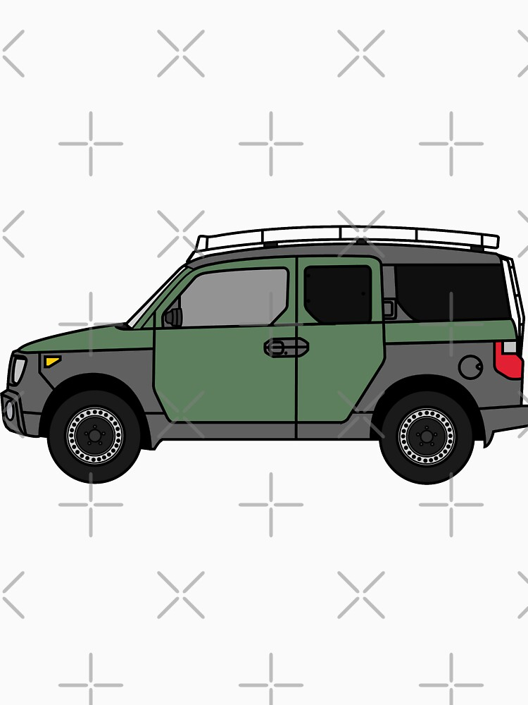 RedBubble: Element  with Roof Rack