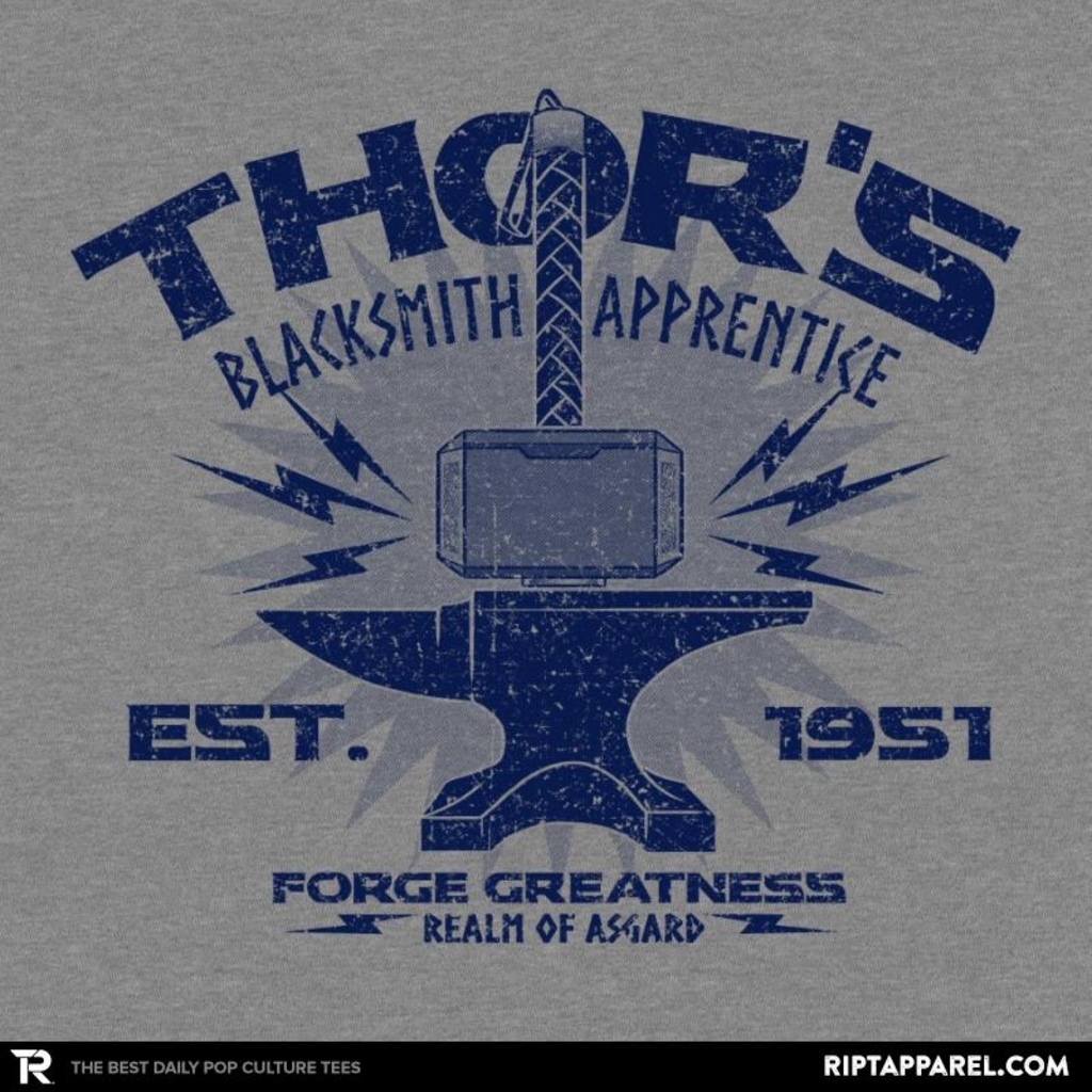 Ript: Blacksmith Apprentice Reprint