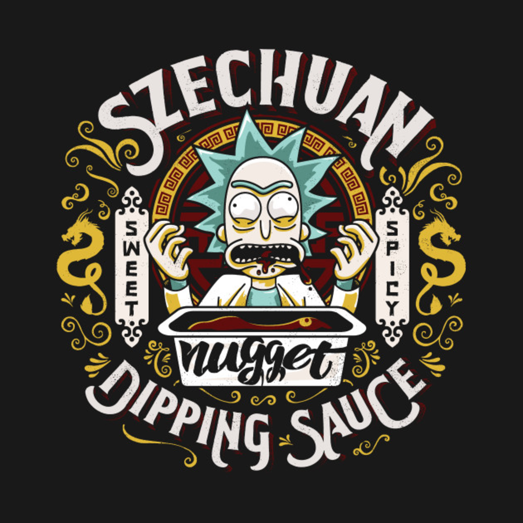 TeePublic: I Want That Nugget Sauce
