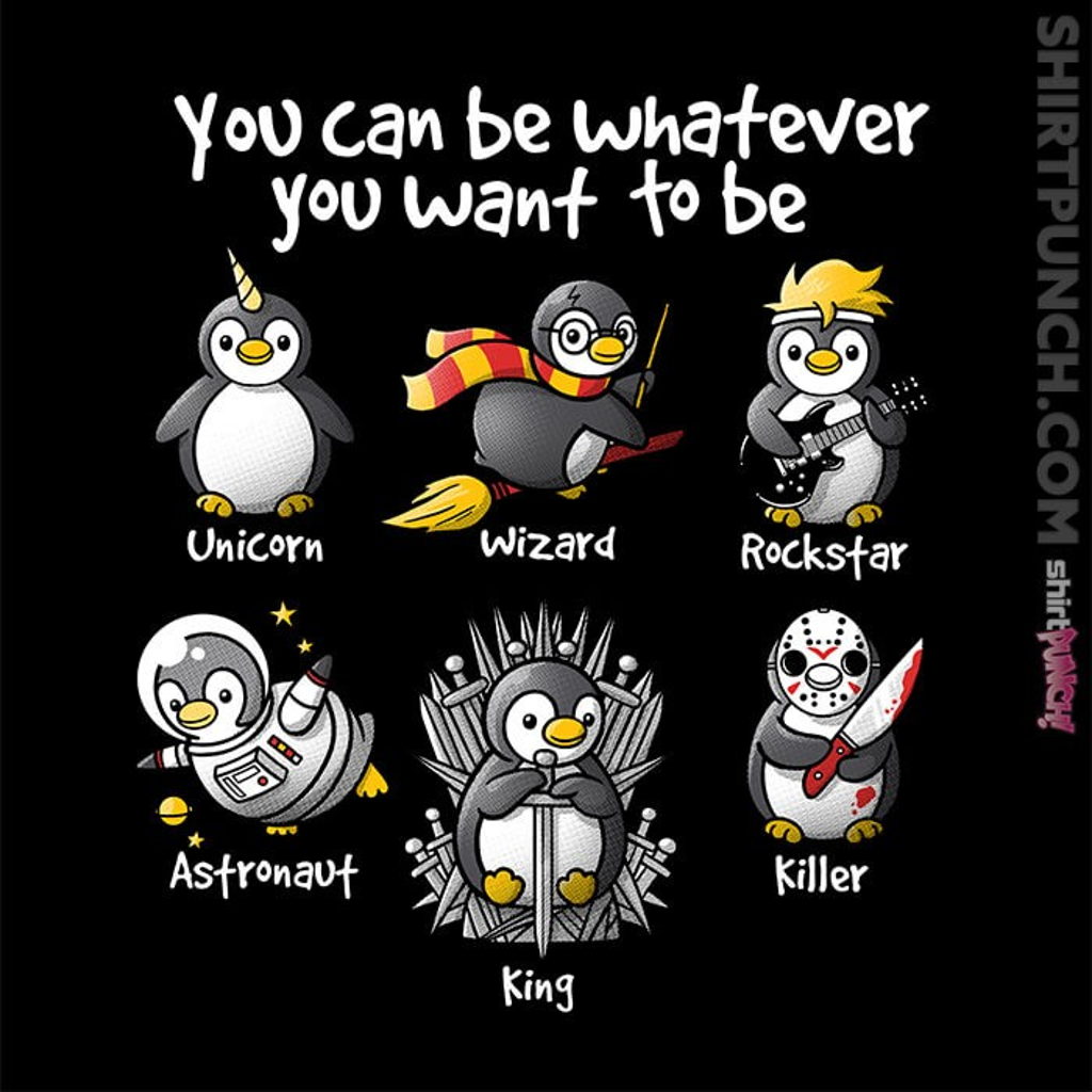 ShirtPunch: Be a Penguin