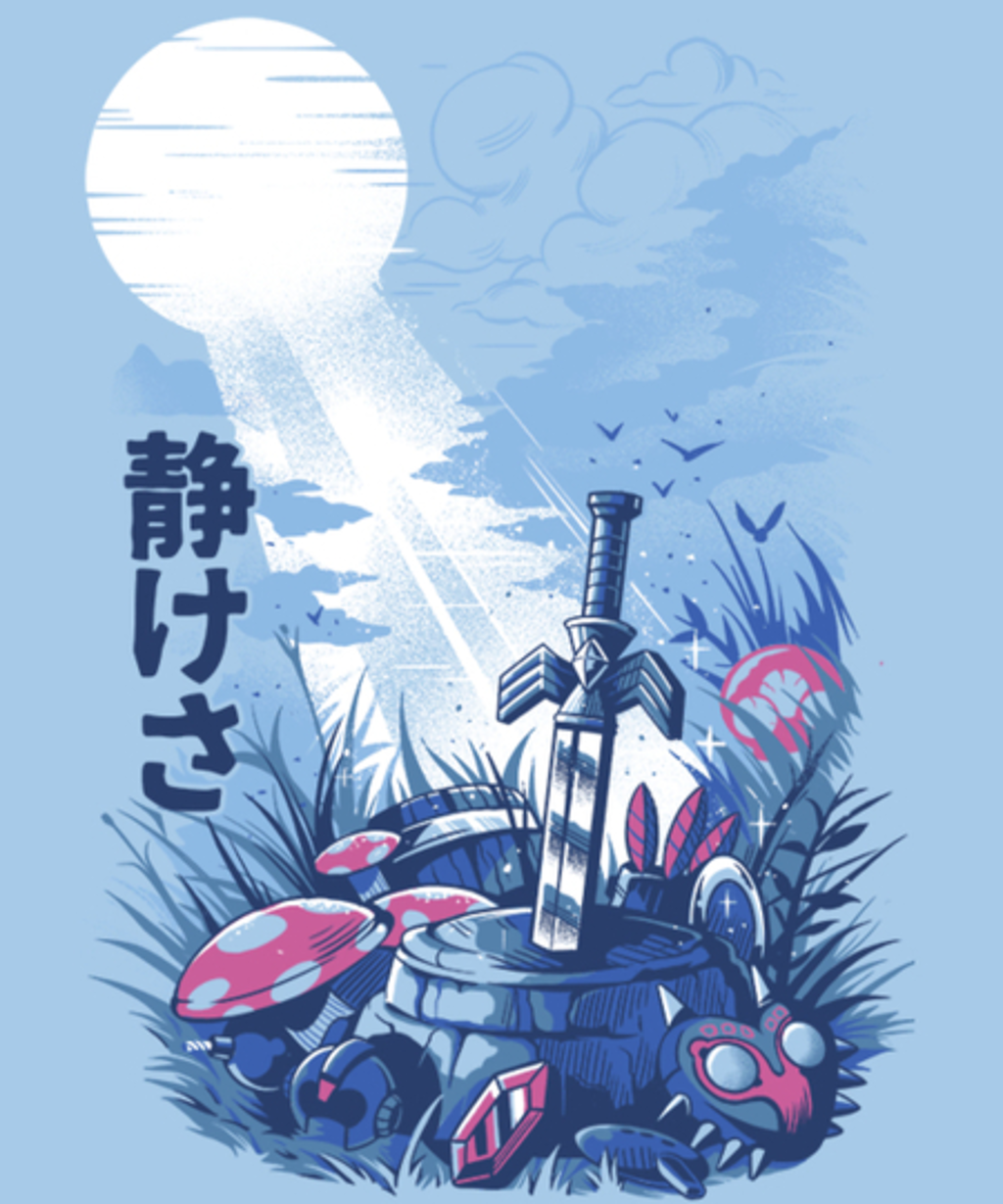 Qwertee: Games on the woods