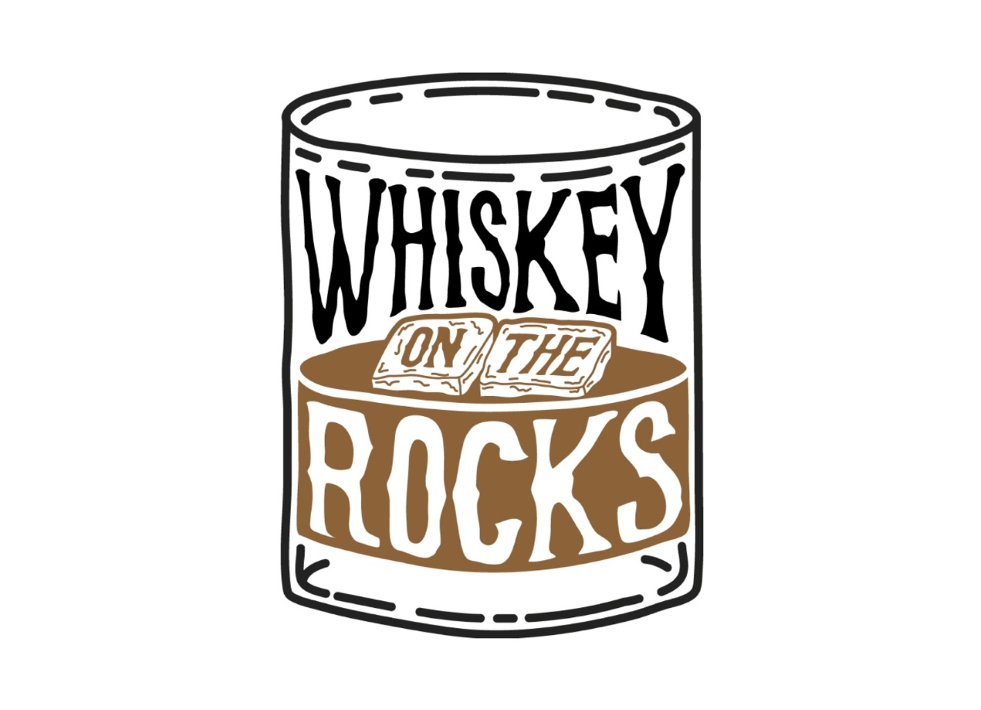 Threadless: Whiskey On The Rocks