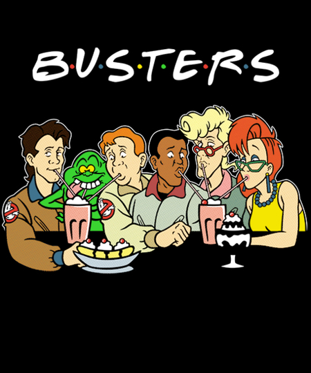 Qwertee: The One With The Busters