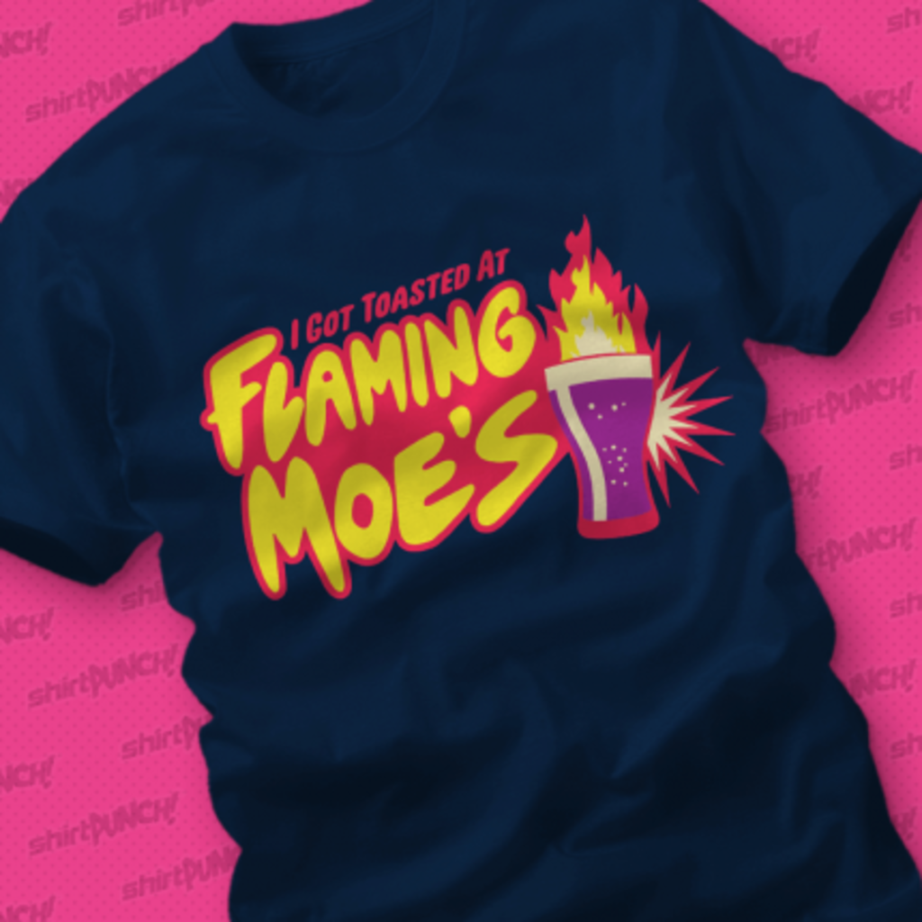 ShirtPunch: Flaming Moe's