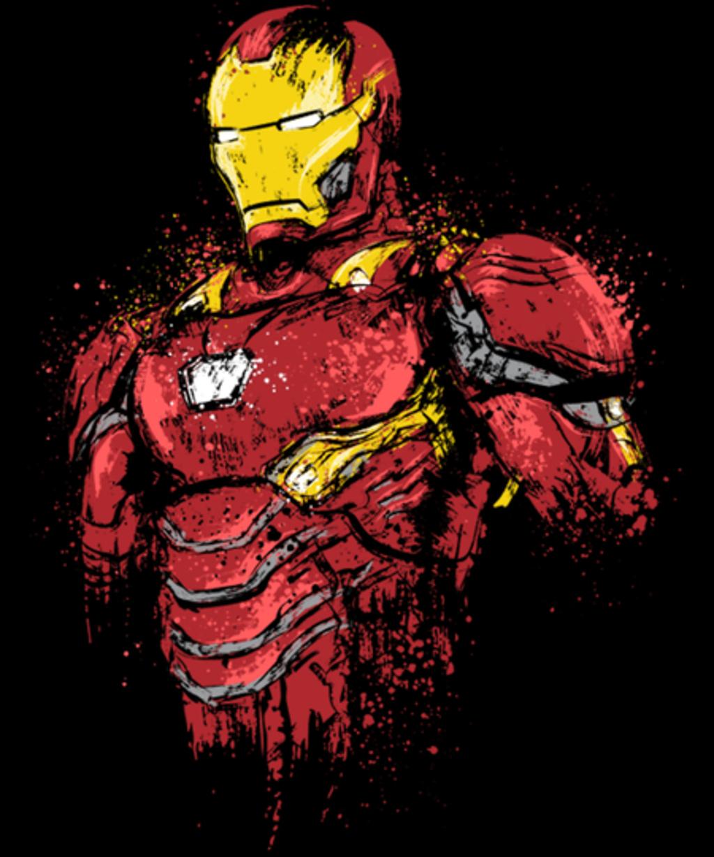 Qwertee: Infinity Iron