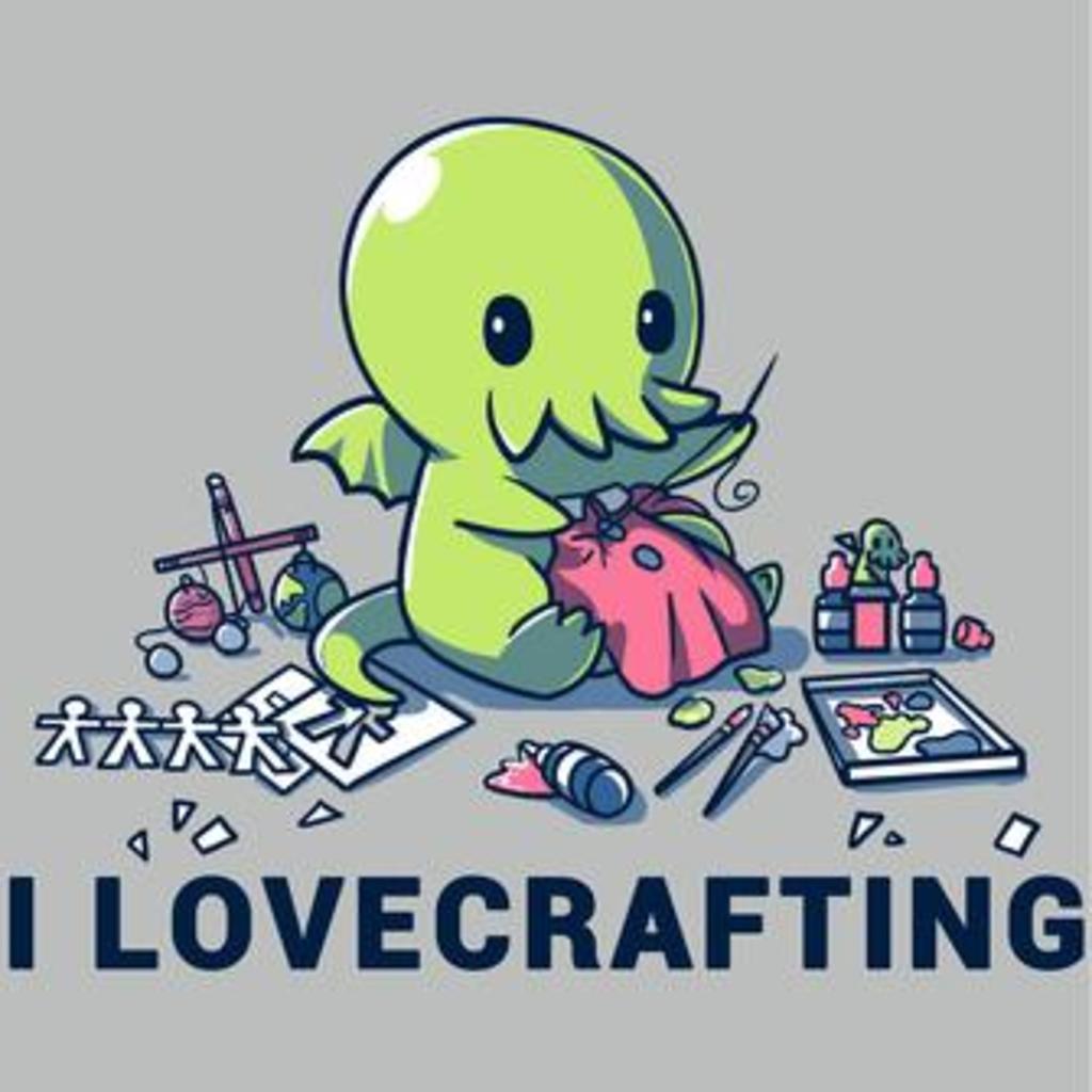 TeeTurtle: I Lovecrafting