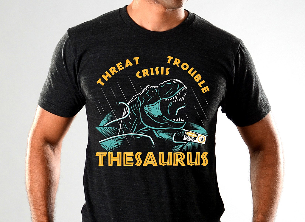 SnorgTees: Thesaurus Limited Edition Tri-Blend