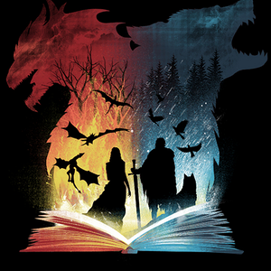 Qwertee: Book of Fire and Ice