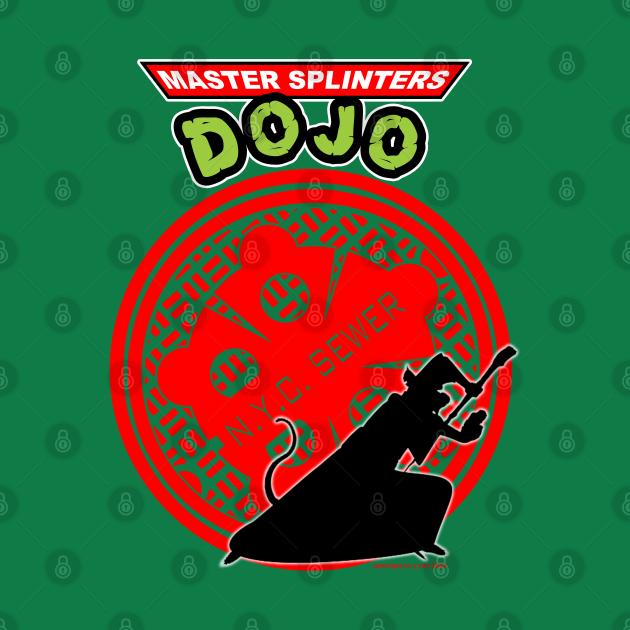 TeePublic: Master Splinters dojo