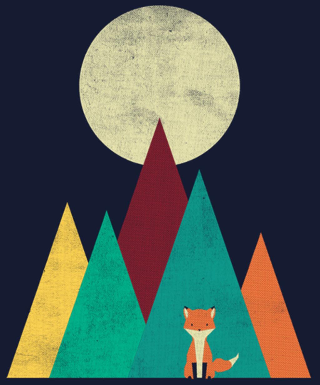 Qwertee: Red Fox