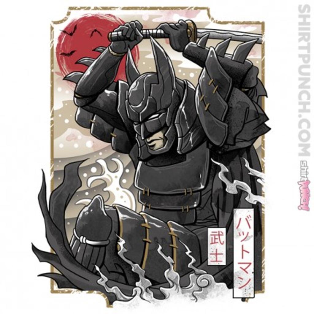 ShirtPunch: Samurai Batman