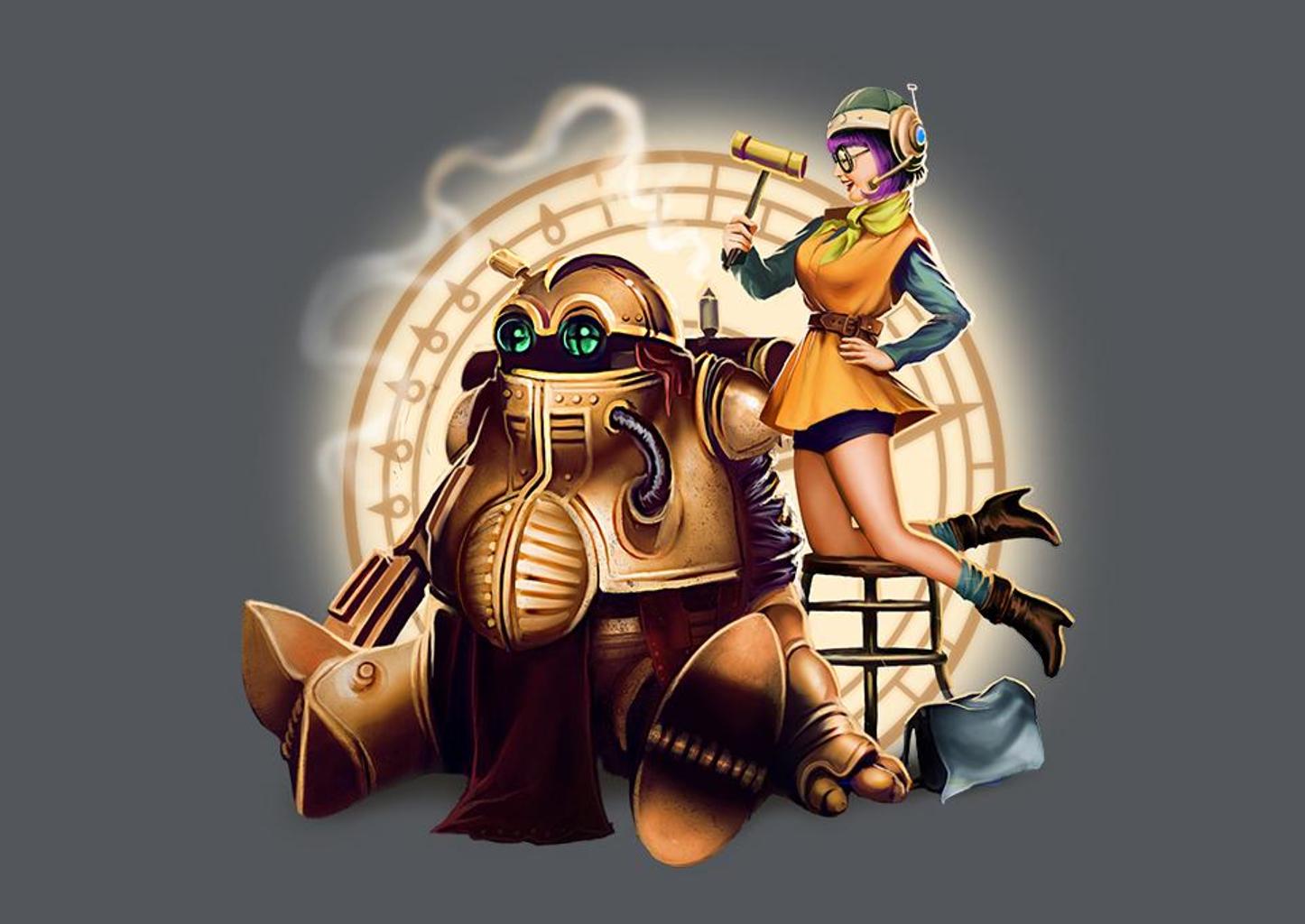 TeeFury: Lucca & Robo