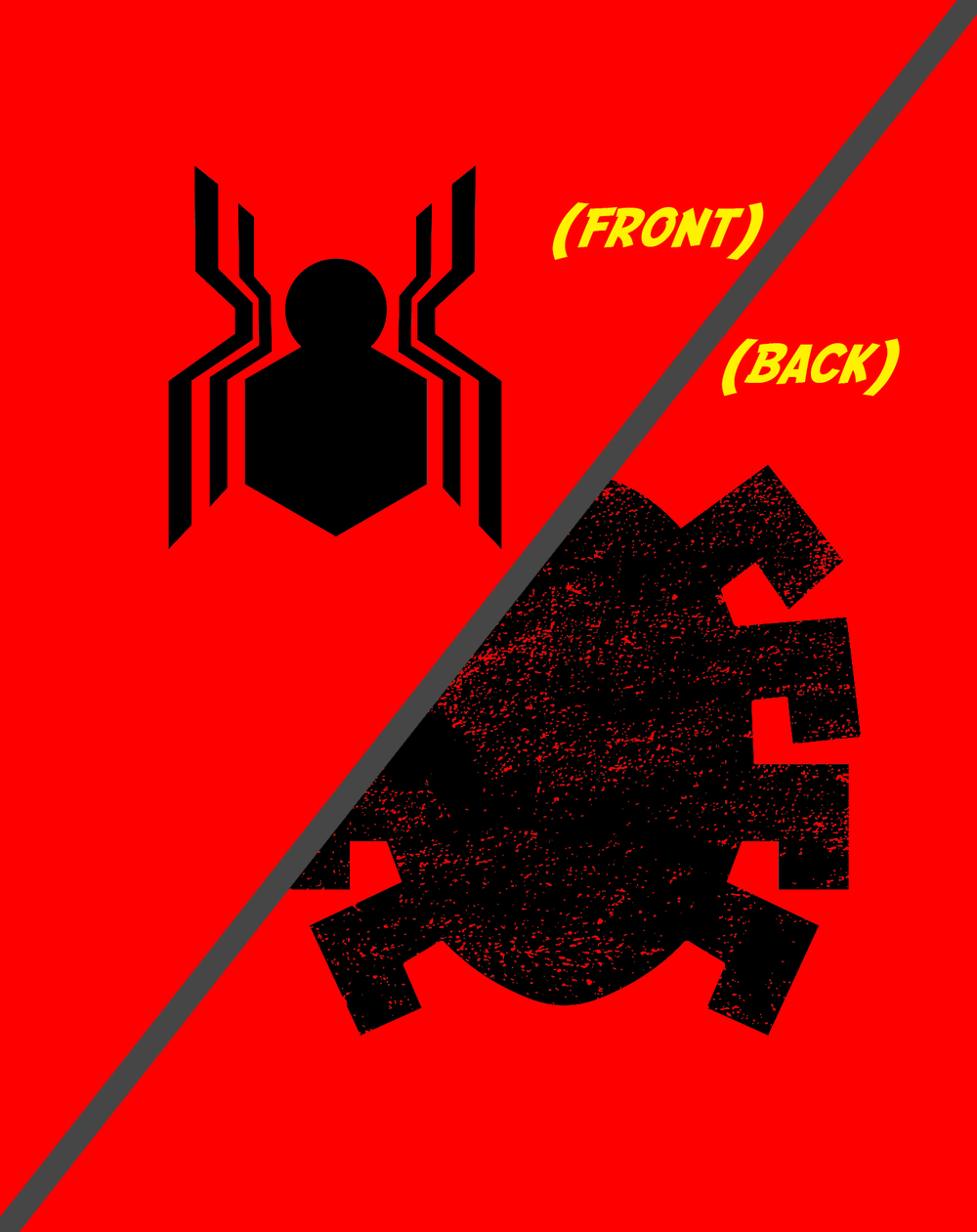 Inkogneeto: CIVIL SPIDER - RED