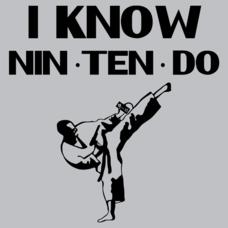Textual Tees: I Know Nin Ten Do