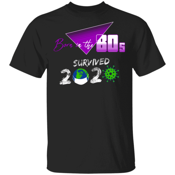 Pop-Up Tee: Survived Since The 80s