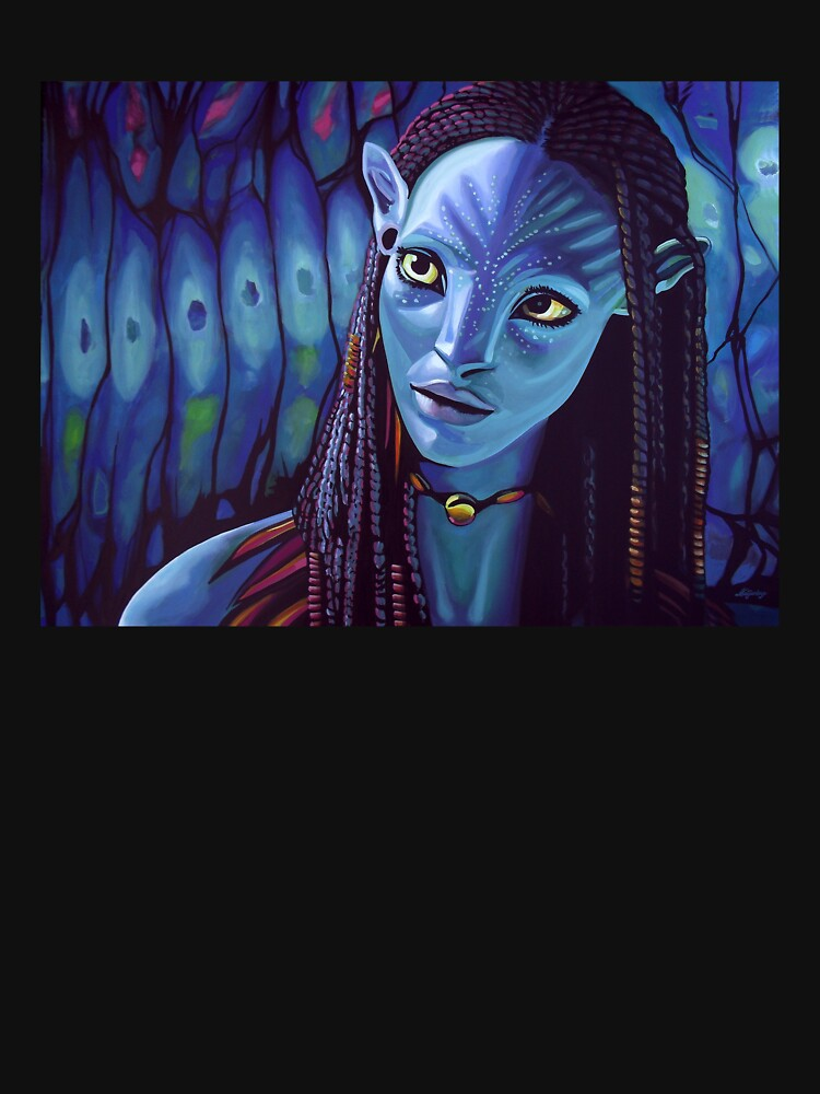 RedBubble: Zoe Saldana as Neytiri in Avatar