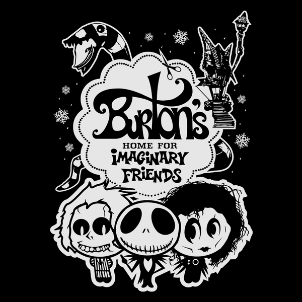 Pop-Up Tee: Burton's Imaginary Friends