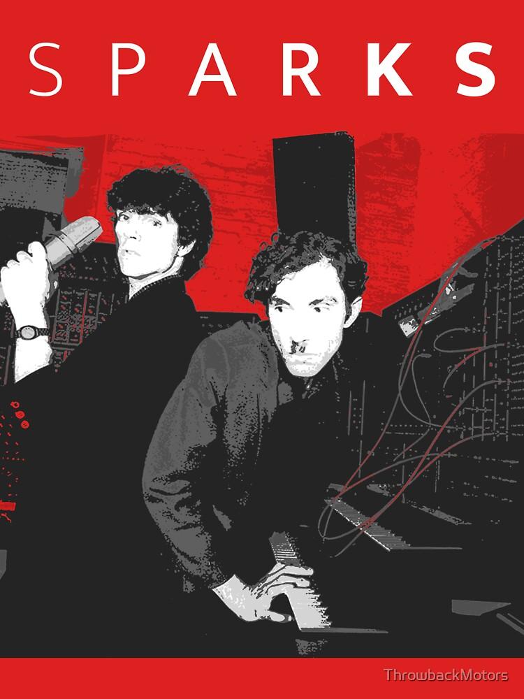 RedBubble: SPARKS (WHITE TEXT)