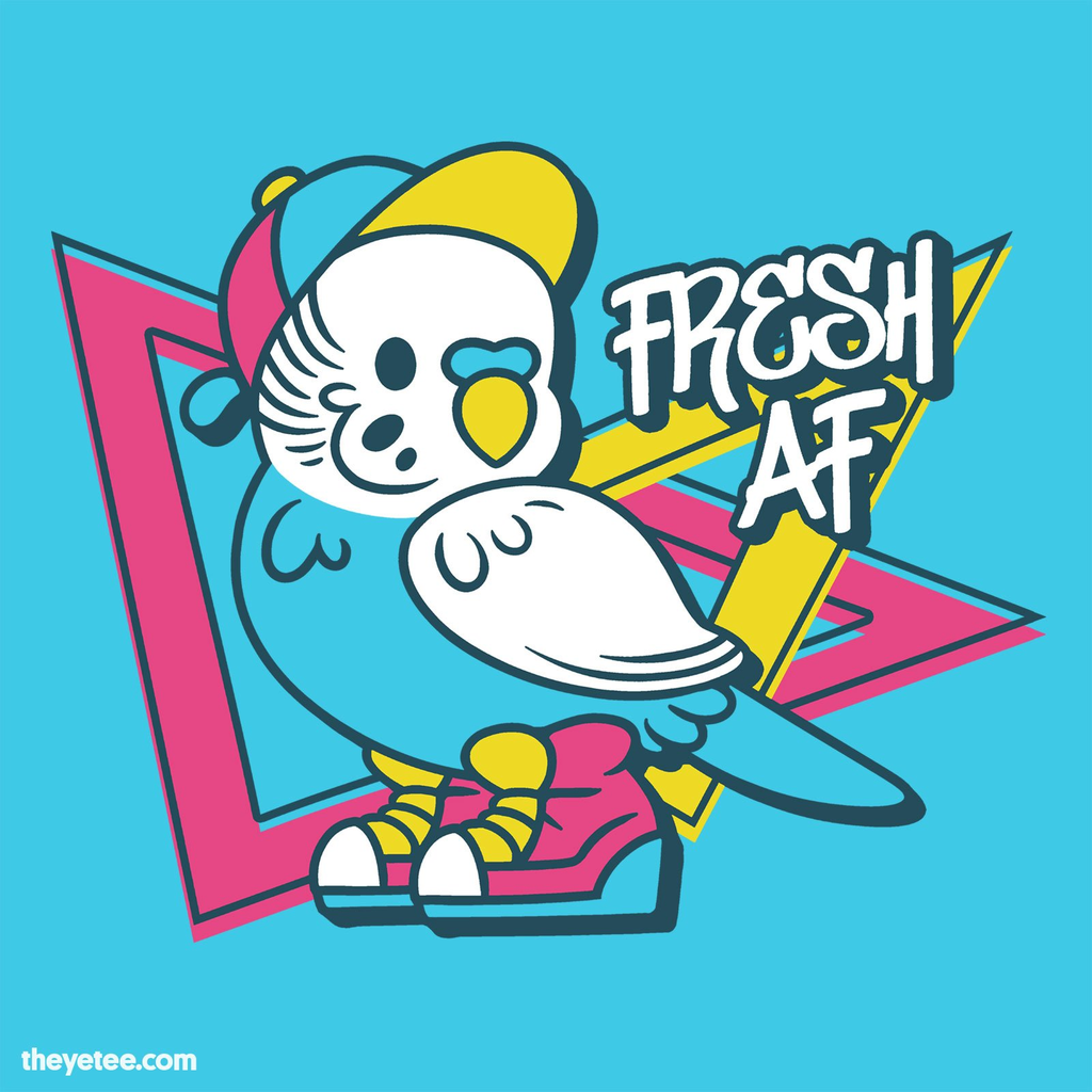 The Yetee: Pretty Fly for a Little Guy